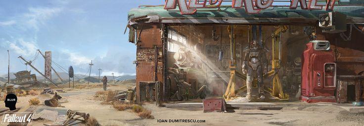 fallout 4 garage wallpaper wallpapersafari