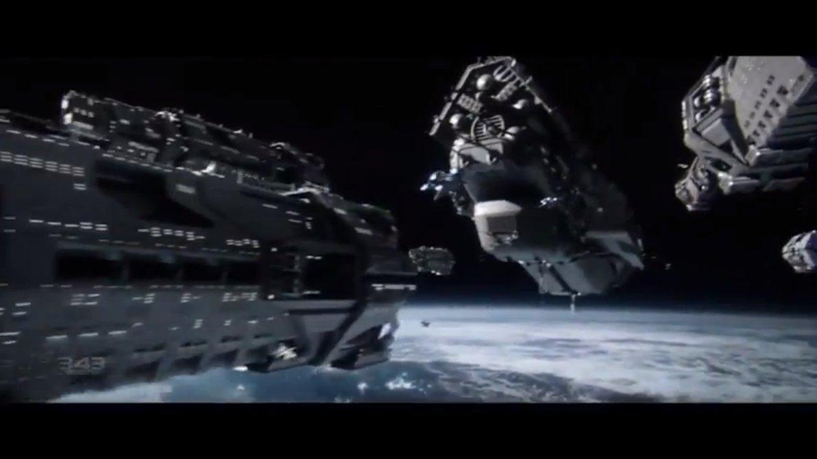 UNSC Infinities fleet by HaseoYashimora 1192x670