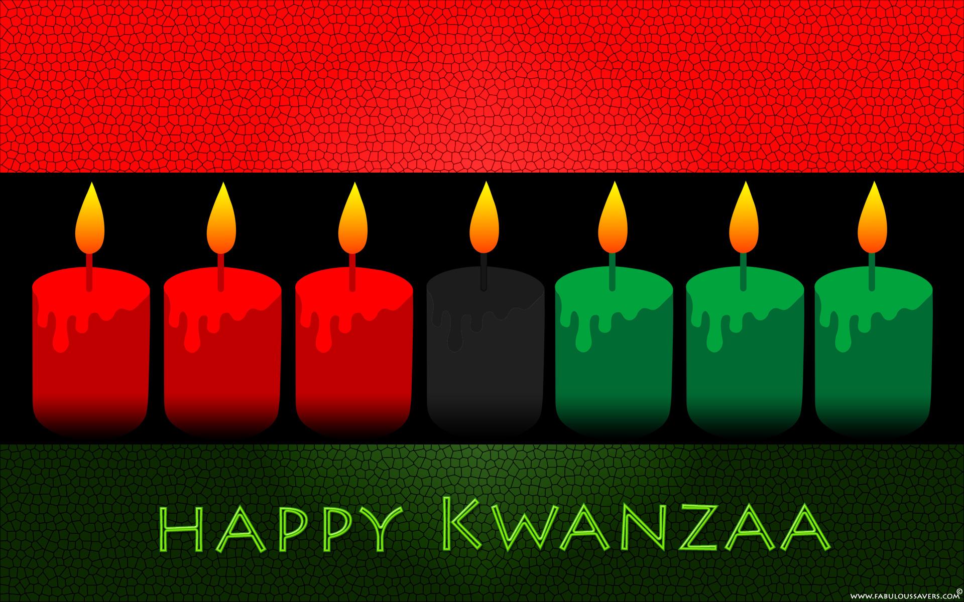Happy Kwanzaa Day computer desktop wallpaper 1920x1200