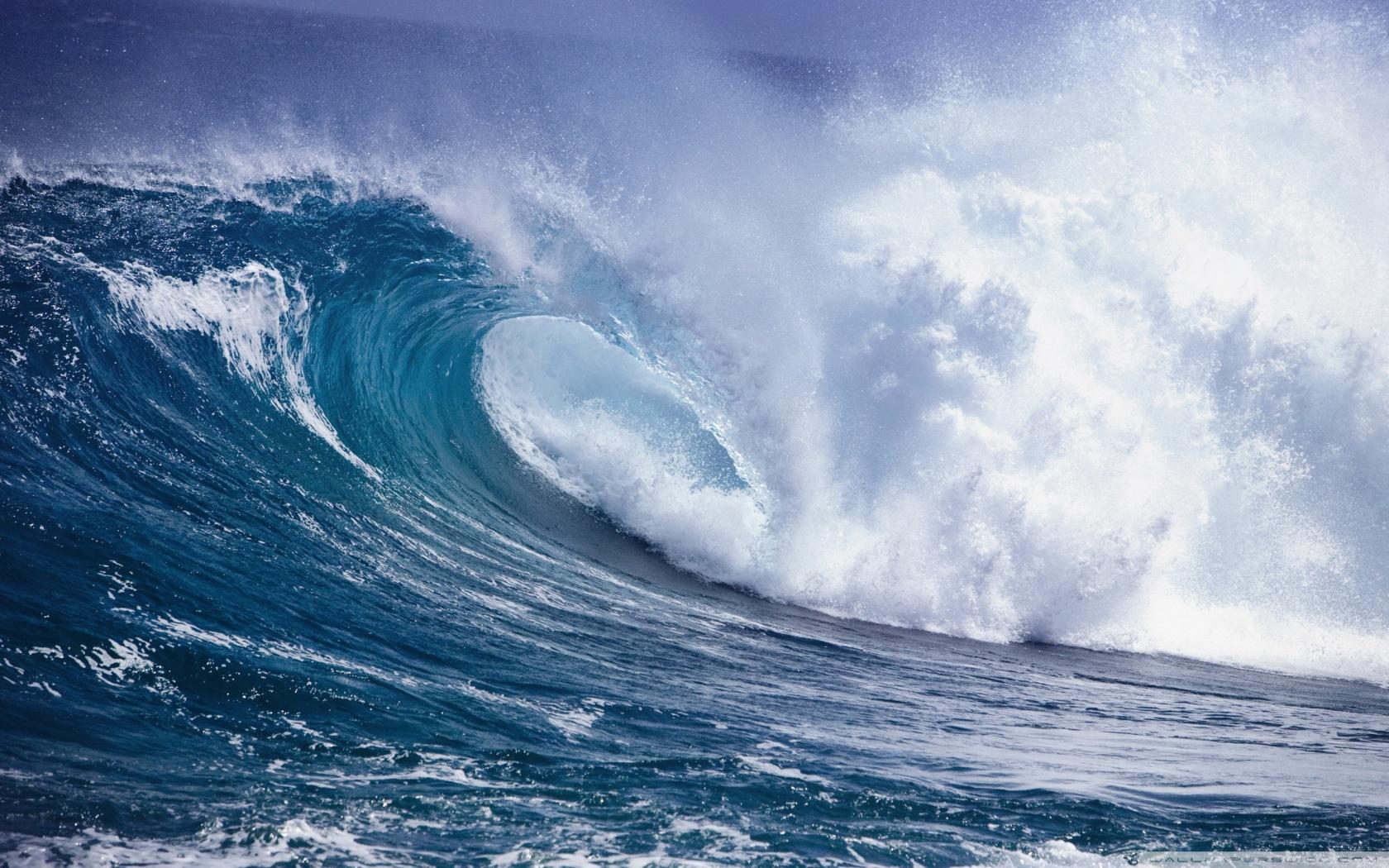 Ocean Waves Wallpaper X Images at Clkercom   vector clip art 1680x1050