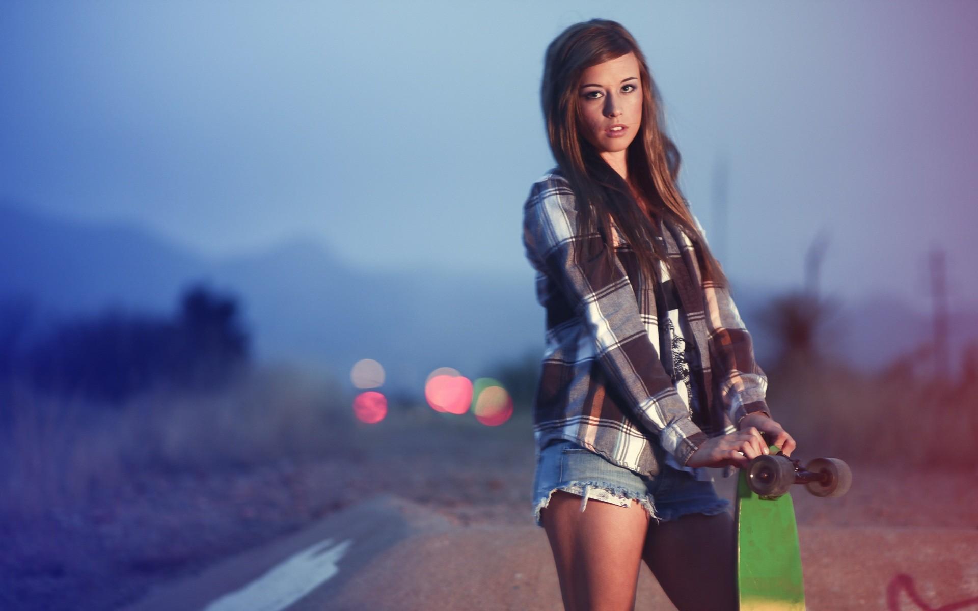 Skater Girl   Wallpaper 32741 1920x1200