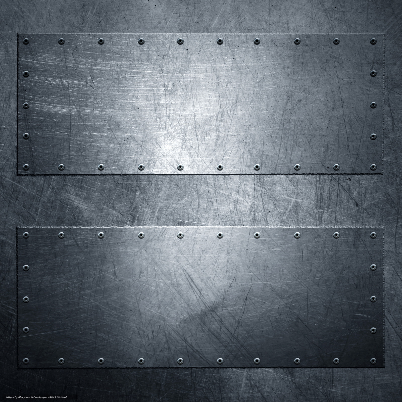Riveted Metal Wallpaper