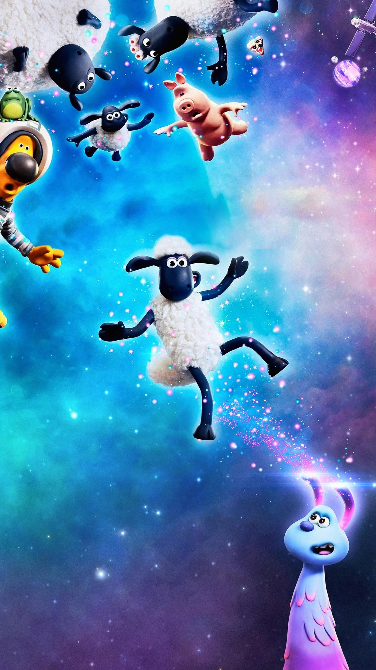 Free download A Shaun the Sheep Movie Farmageddon 2019 Phone