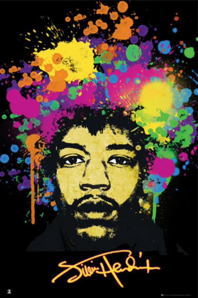 48 Jimi Hendrix Iphone Wallpaper On Wallpapersafari