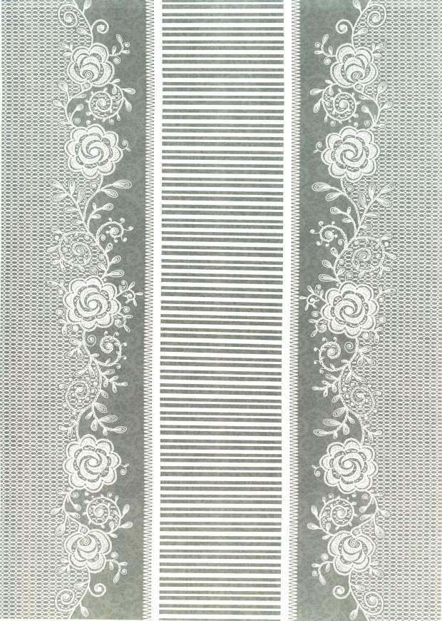 Kanban Crafts   Lovely in Lace   printed background paper 14 620x870