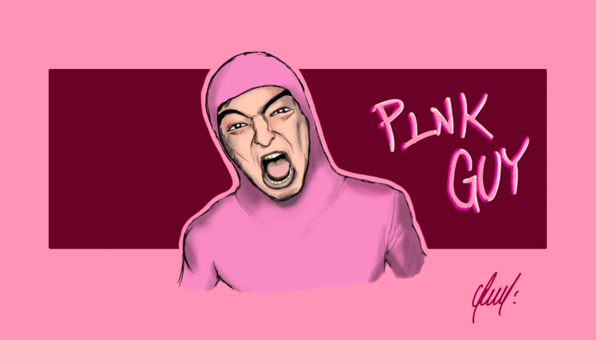 PINK GUY by OMFGRGE 1182x675