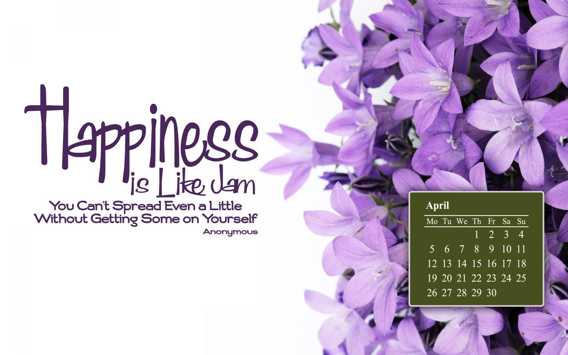 April 2010 Calendar Desktop Wallpaper 1 1920x1200
