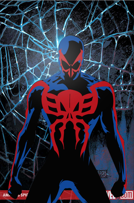 Free Download Spider Man 2099 By Hellequin0 550x835 For