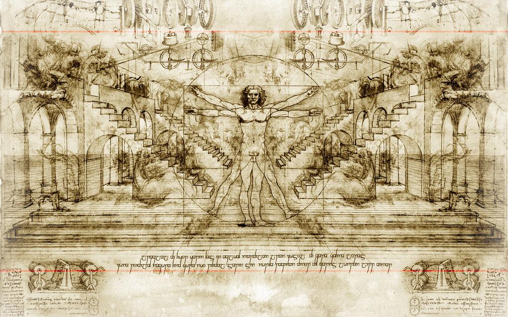 73 Leonardo Da Vinci Wallpaper On Wallpapersafari