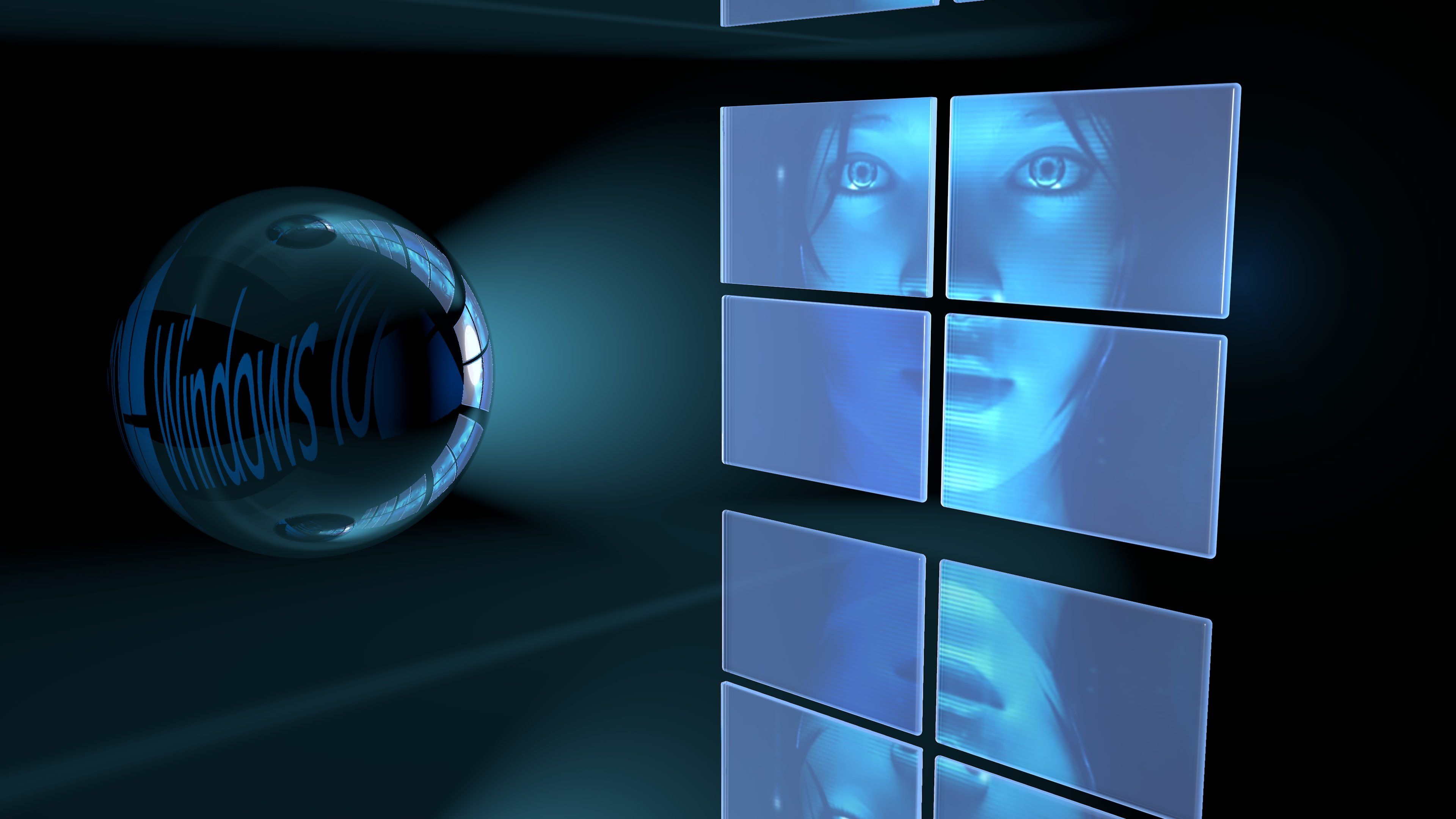 Cortana Animated Wallpaper Windows 10