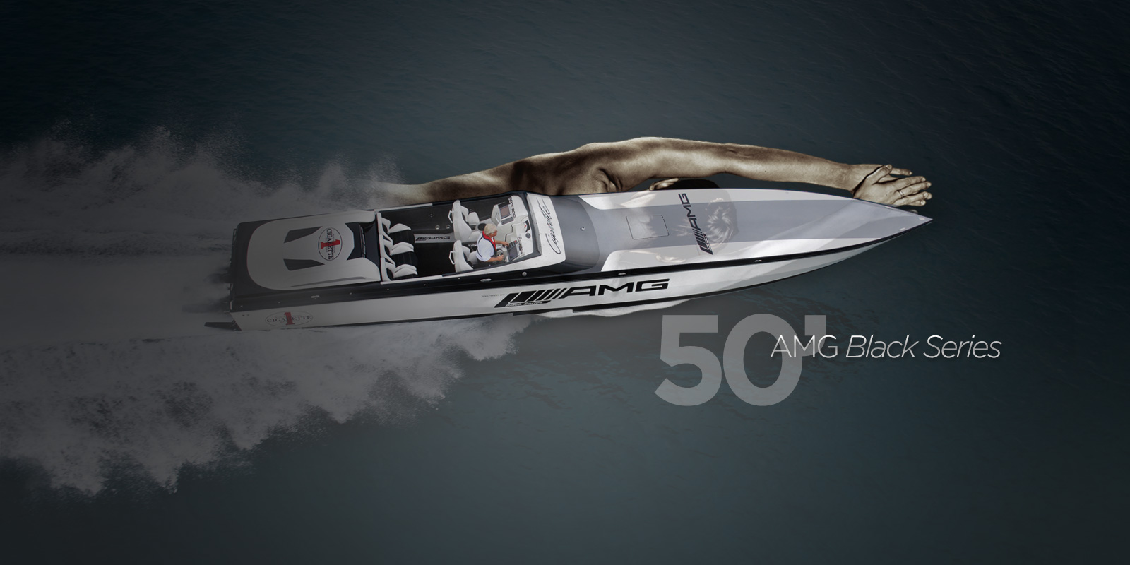 Cigarette Boat Wallpaper 1600x800