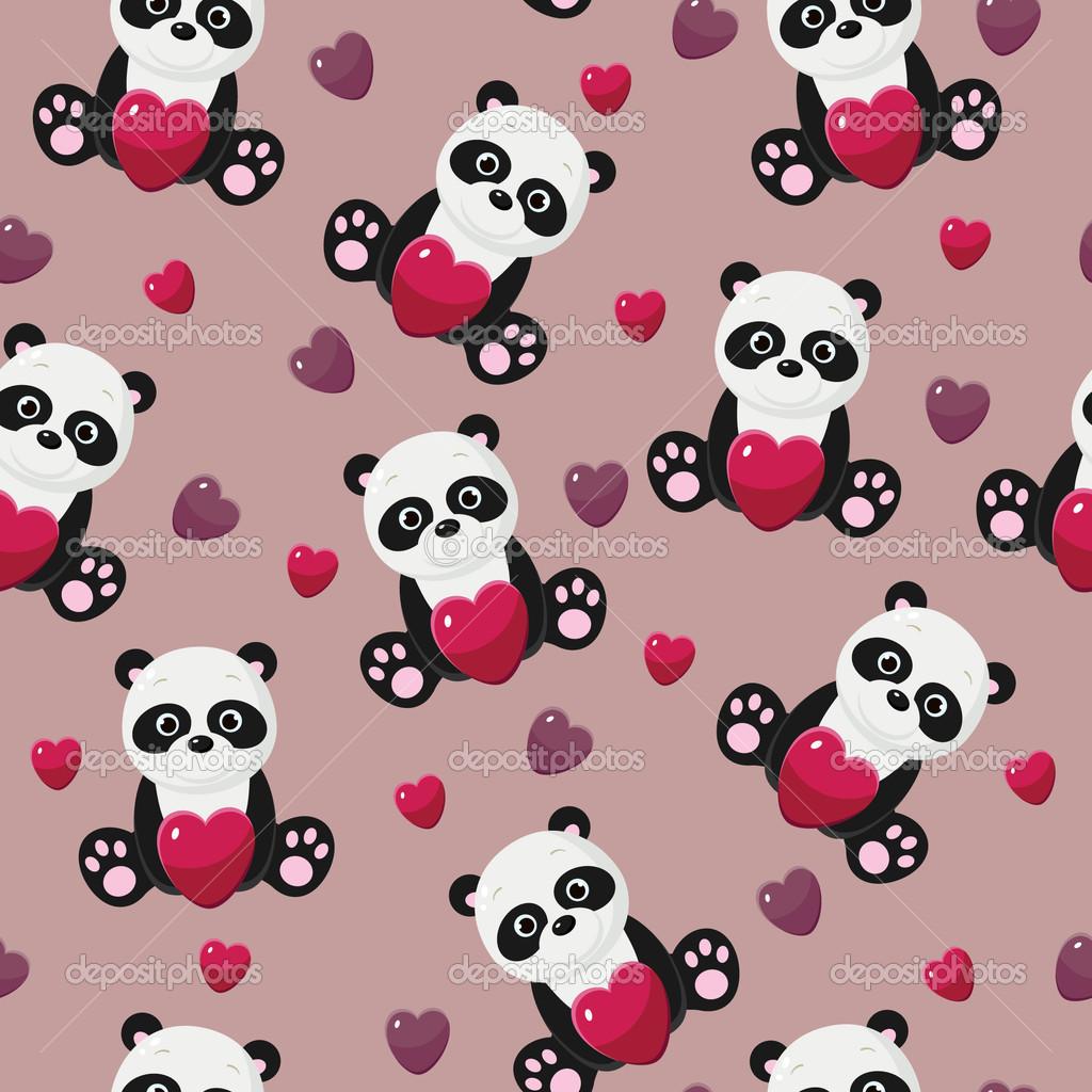 47 Pink Panda Wallpaper On Wallpapersafari