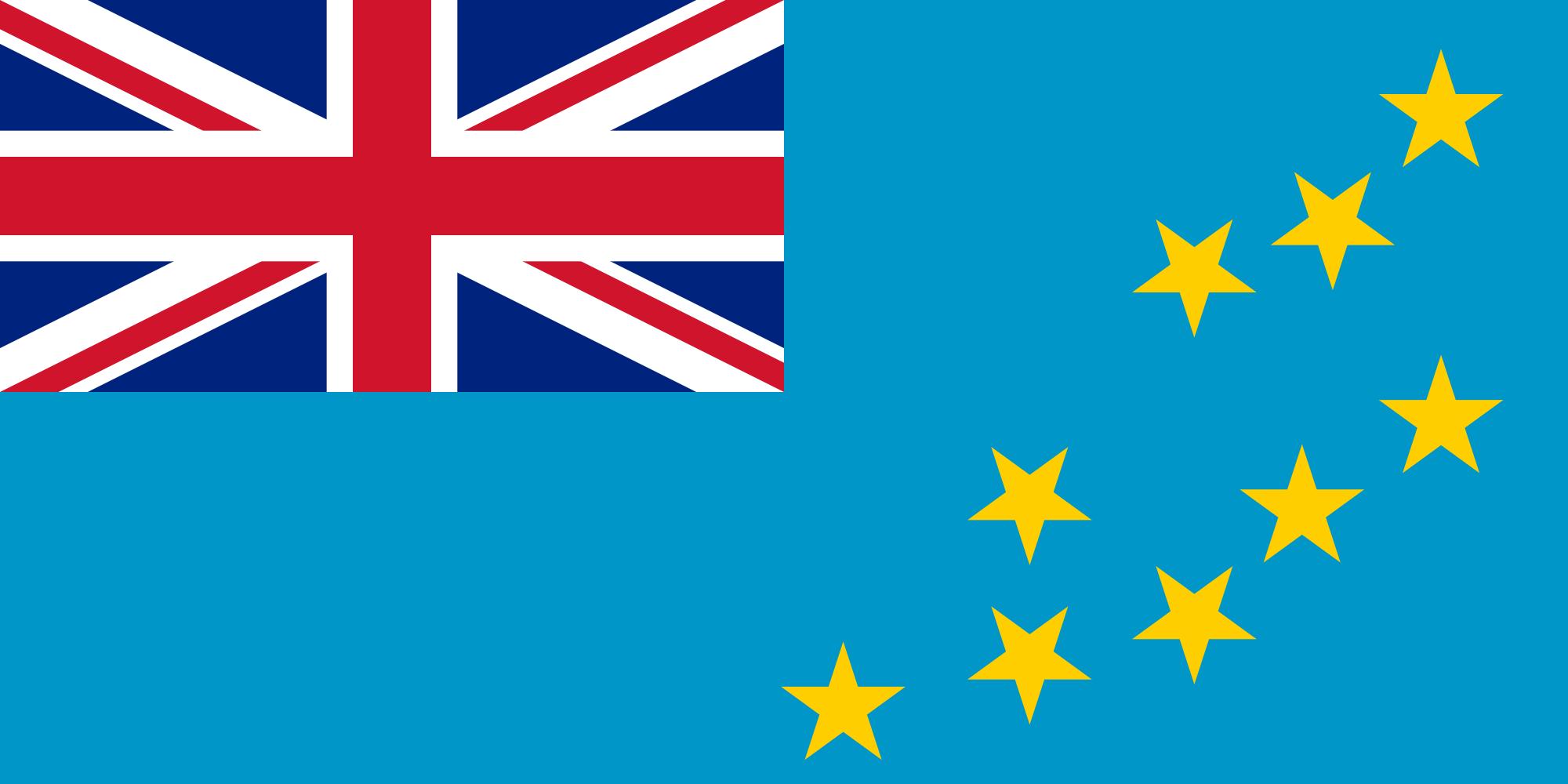 Wallpaper Of The Flag Of Tuvalu PaperPull 2000x1000