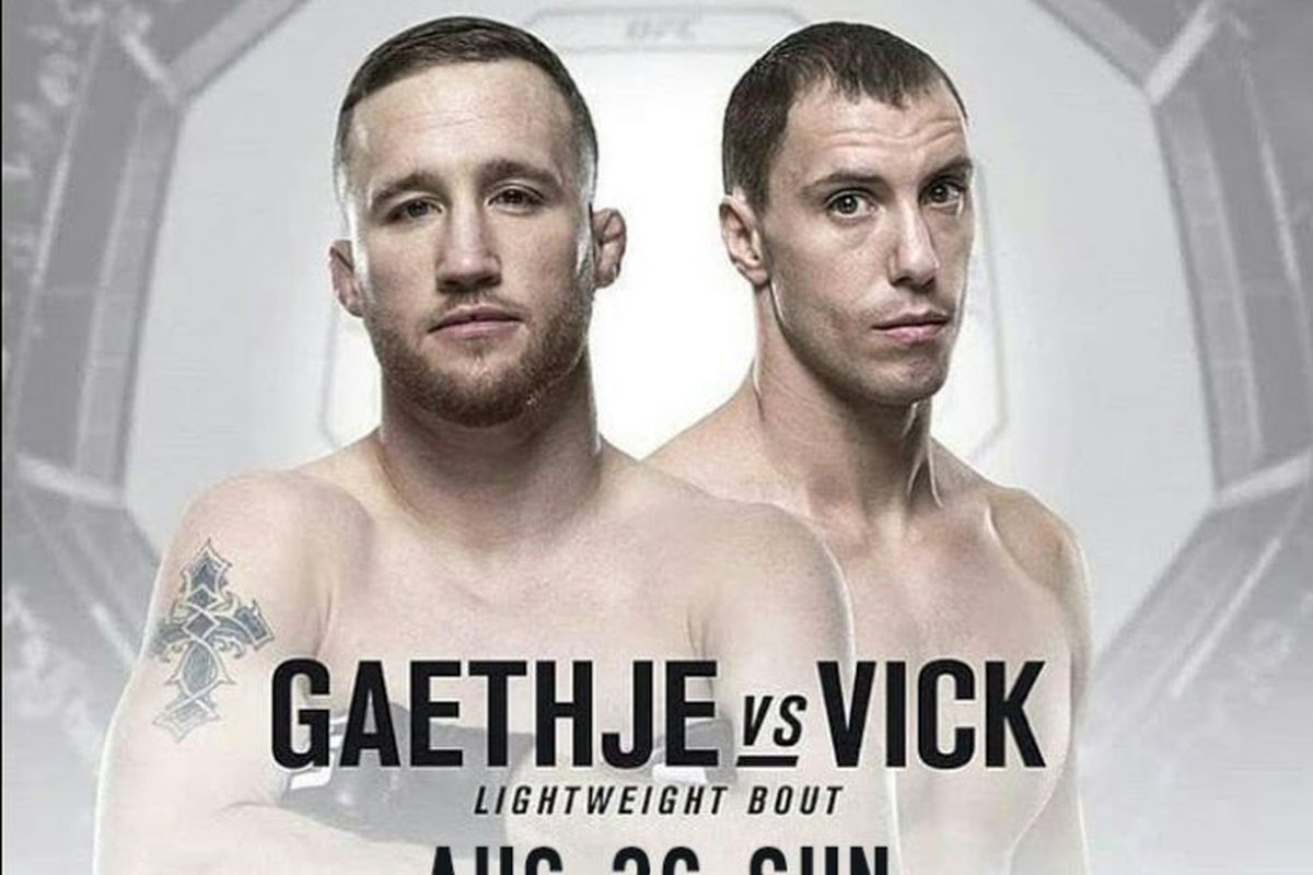 UFC Fight Night Gaethje vs Vick live results discussion play 1200x800