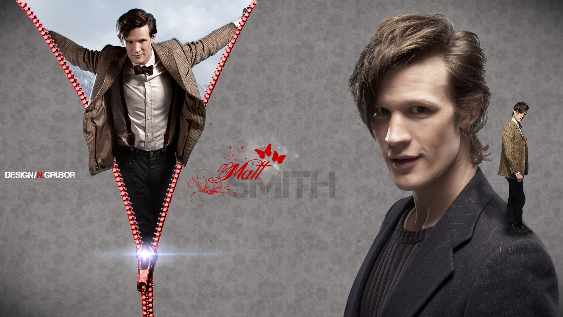 Matt Smith wallpaper by ngrubor 1920x1080