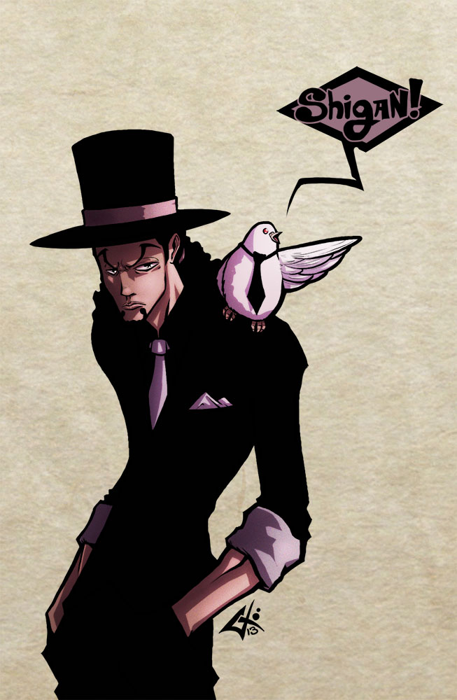 Day 24 Rob Lucci by G Chris 653x1000