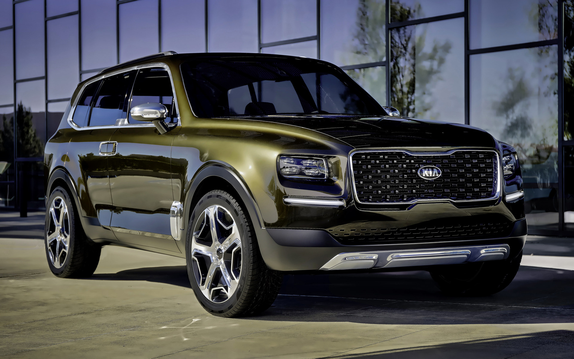 2016 Kia Telluride Concept   Wallpapers and HD Images Car Pixel 1920x1200
