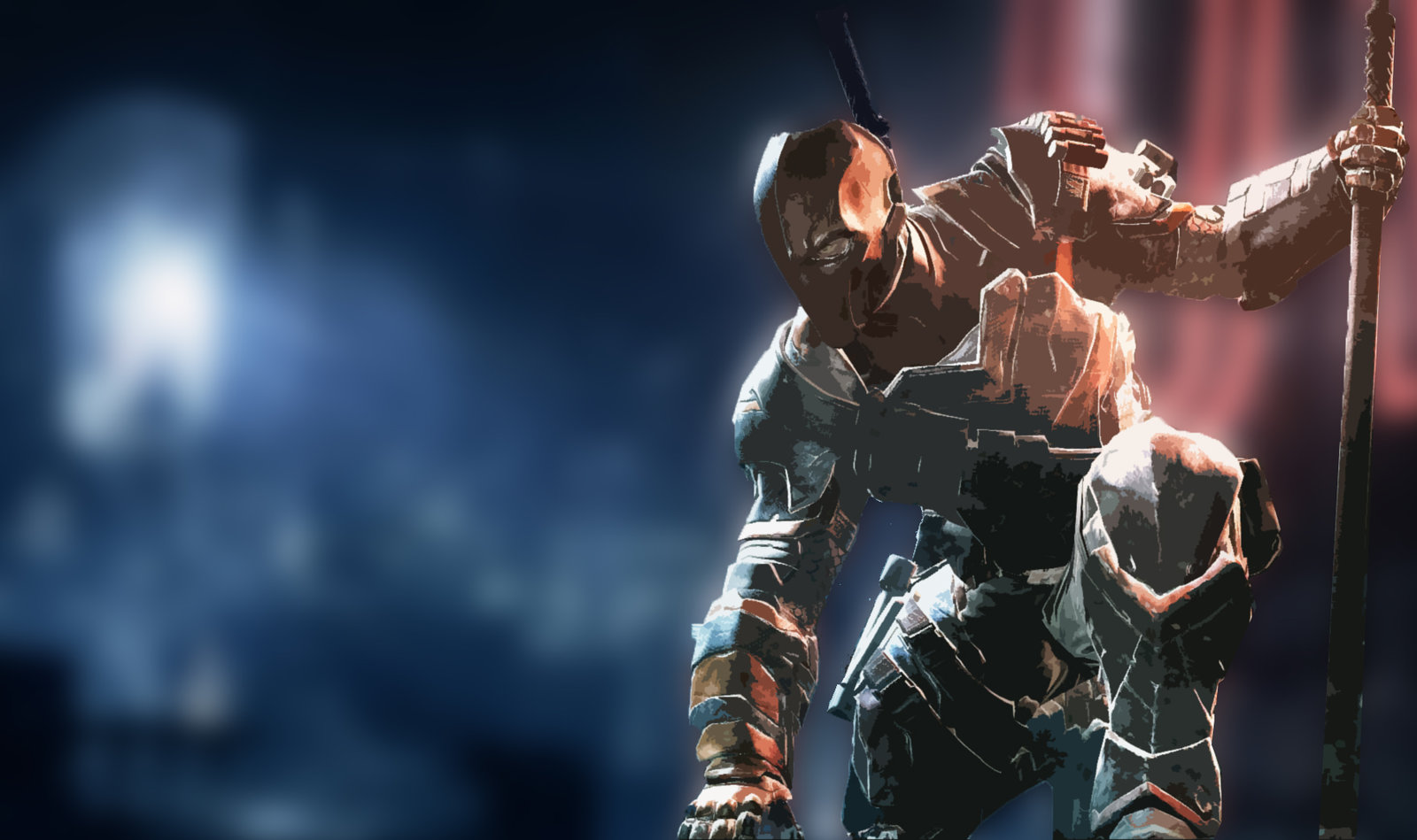 DeathStroke Wallpaper by ArtisticRaccoon 1600x949