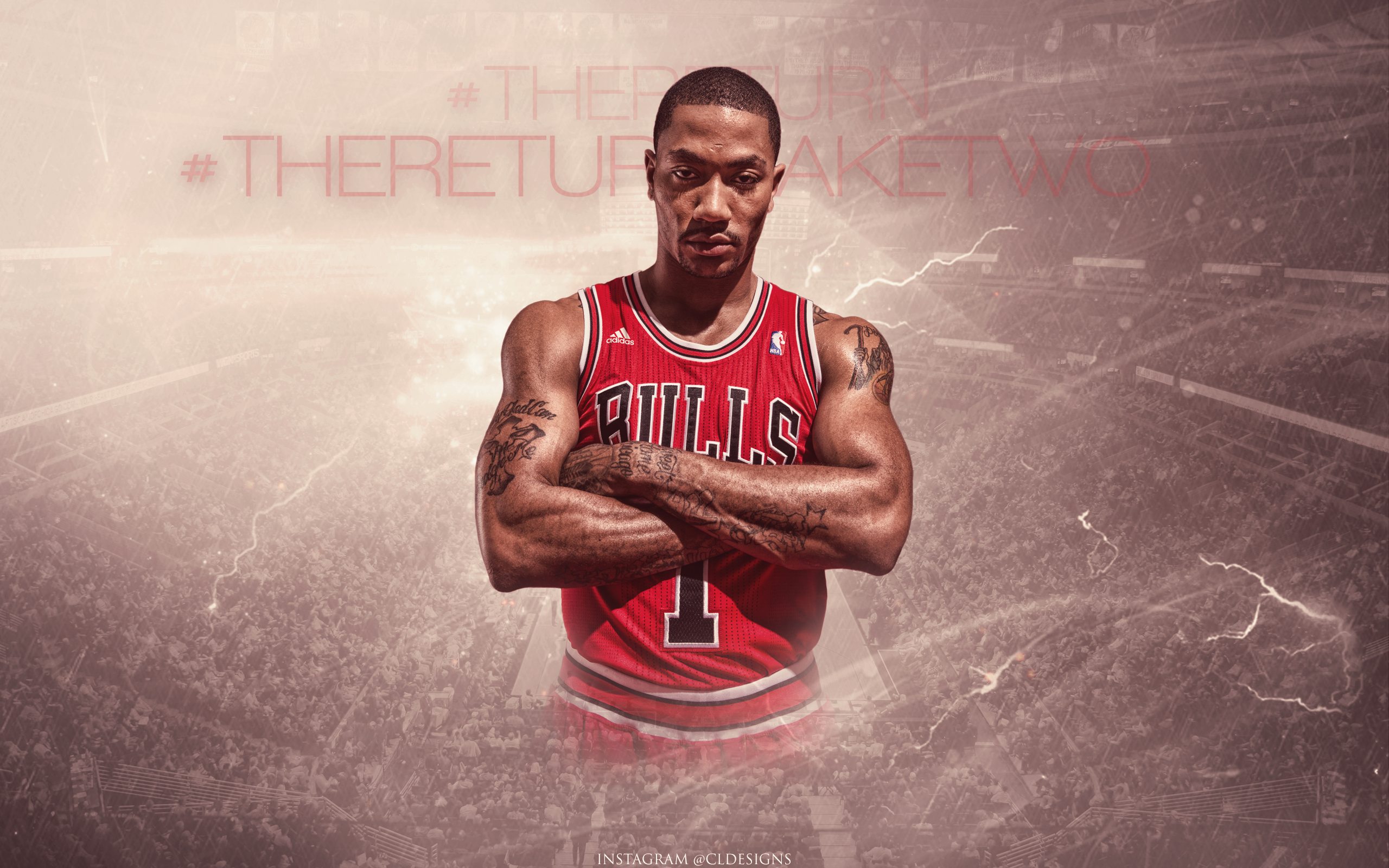 The Return Take Two Derrick Rose by CoryLevyDesigns 2560x1600
