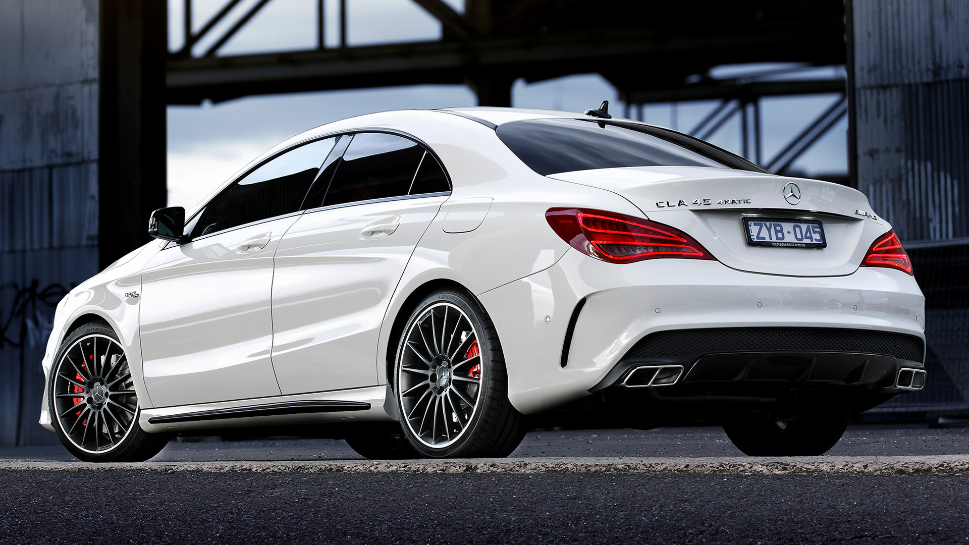 2013 Mercedes Benz CLA 45 AMG AU   Wallpapers and HD Images 1920x1080