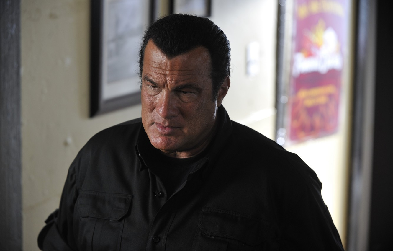 Wallpaper pose actor the series actor Steven Seagal Steven 1332x850