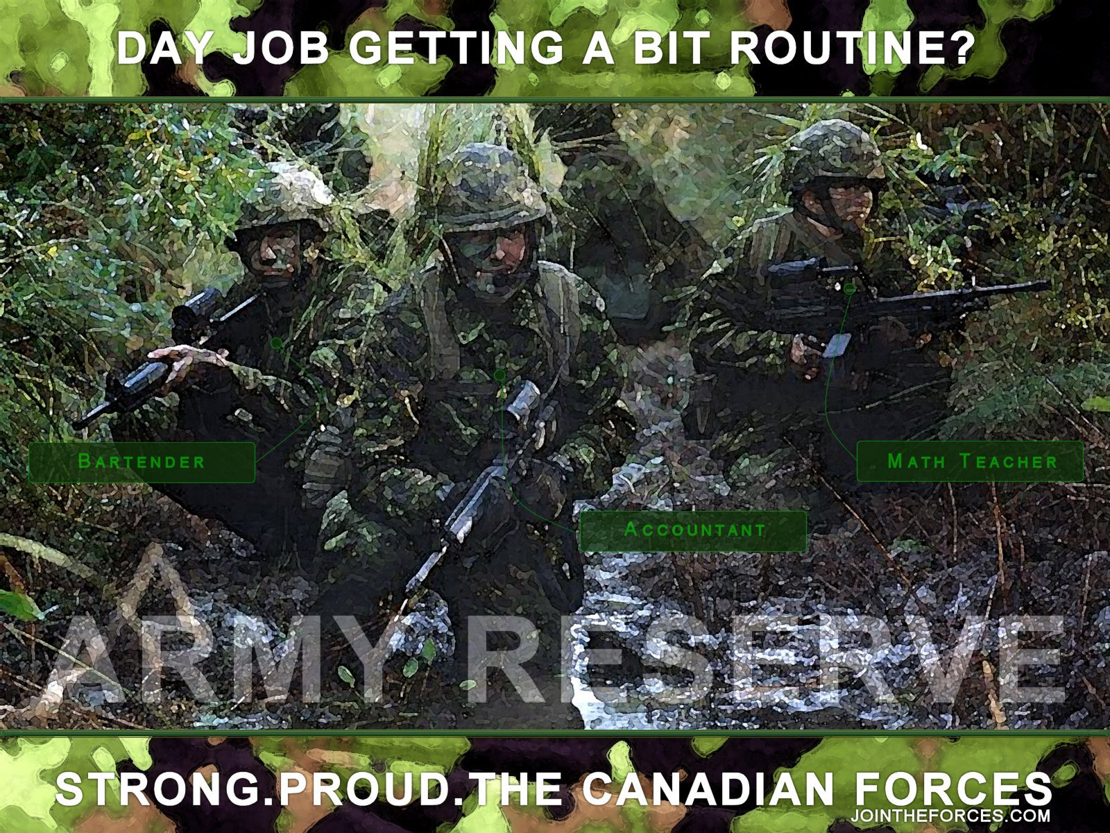 Canadian Army Reserves by reashore 1600x1200