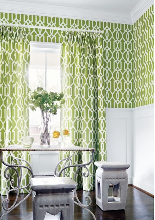 wallpaper green and white lattice wallpaper green and white trellis 521x740