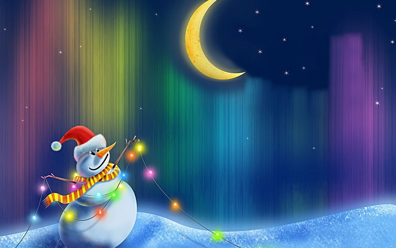 free wallpaper screen savers Christmas Wallpapers And 1680x1050