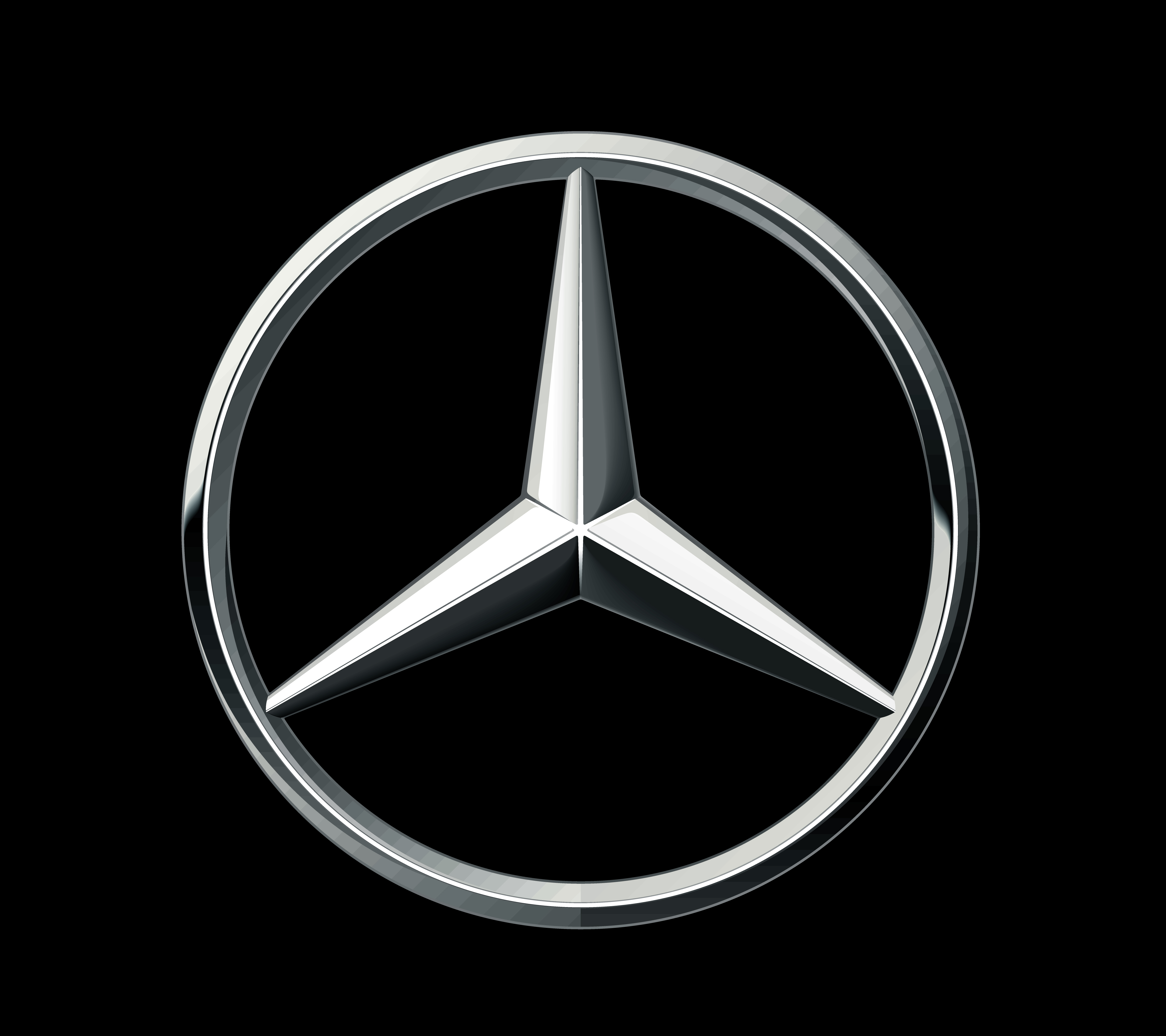 mercedes benz logo Logospikecom Famous and Vector 5000x4444