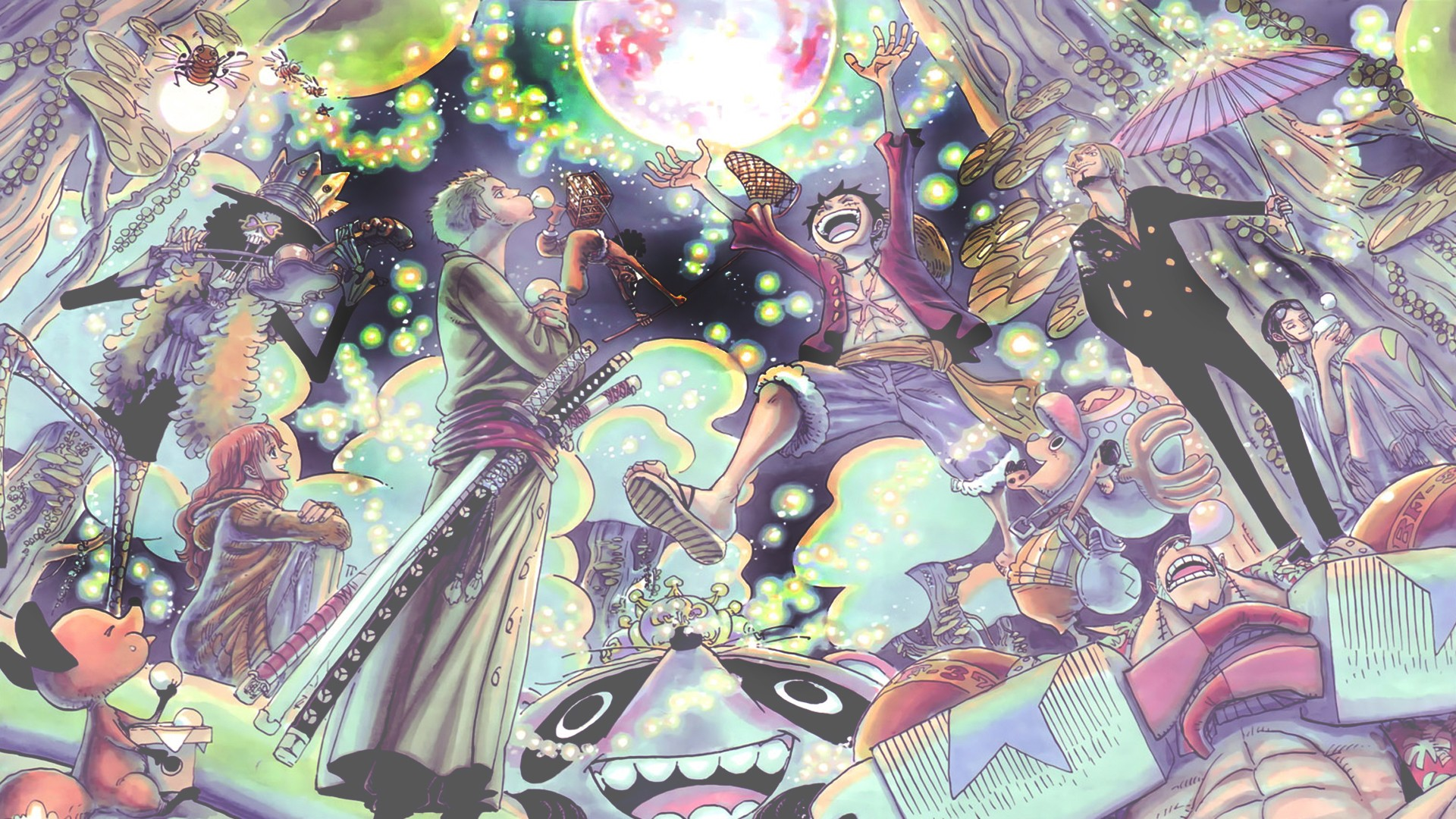 One Piece Straw Hat Pirates 2YR Time S wallpaper   ForWallpaper 1920x1080