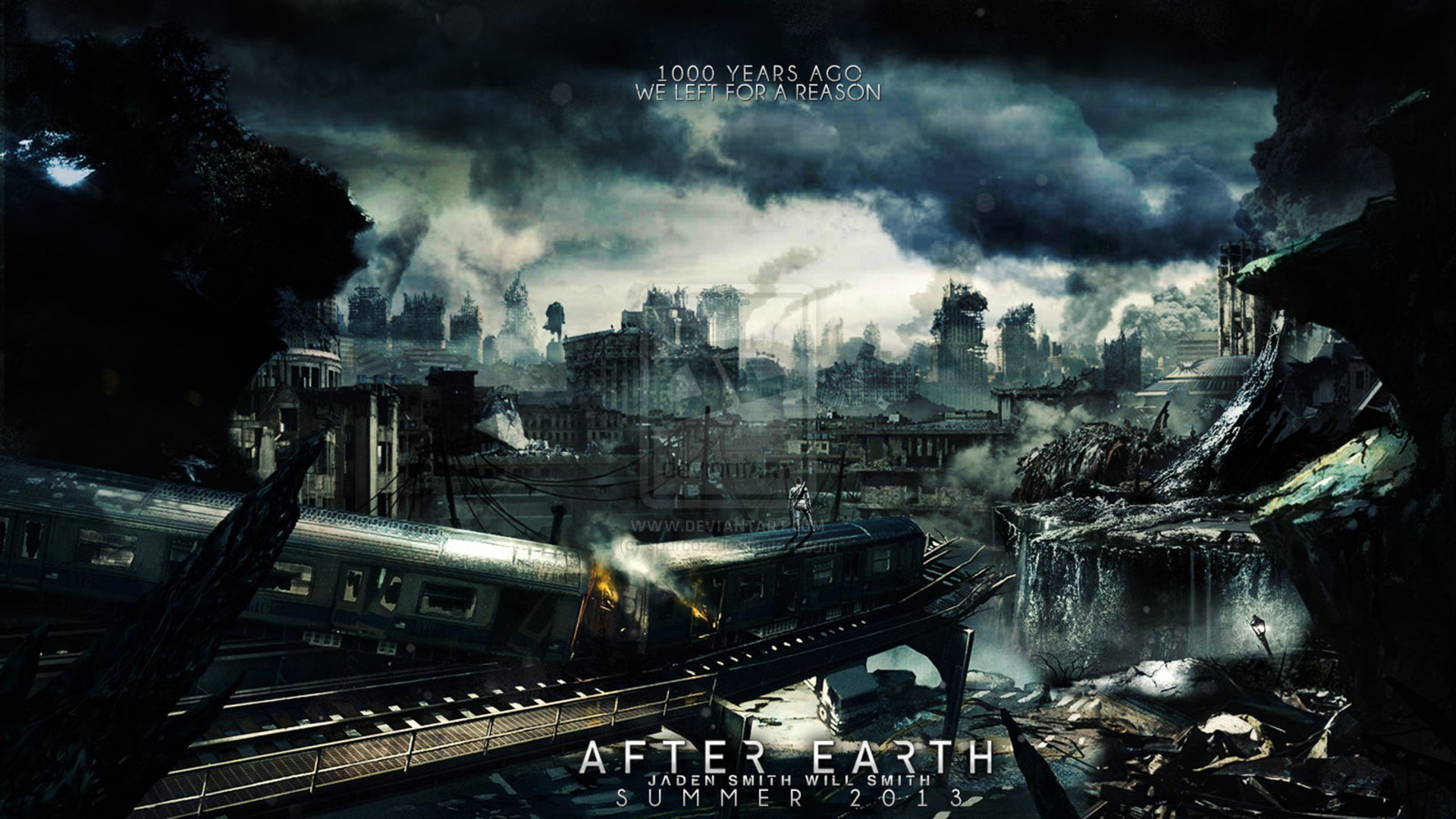 After Earth Movie 2013 Wallpapers HD 1920x1080 ImageBankbiz 1920x1080