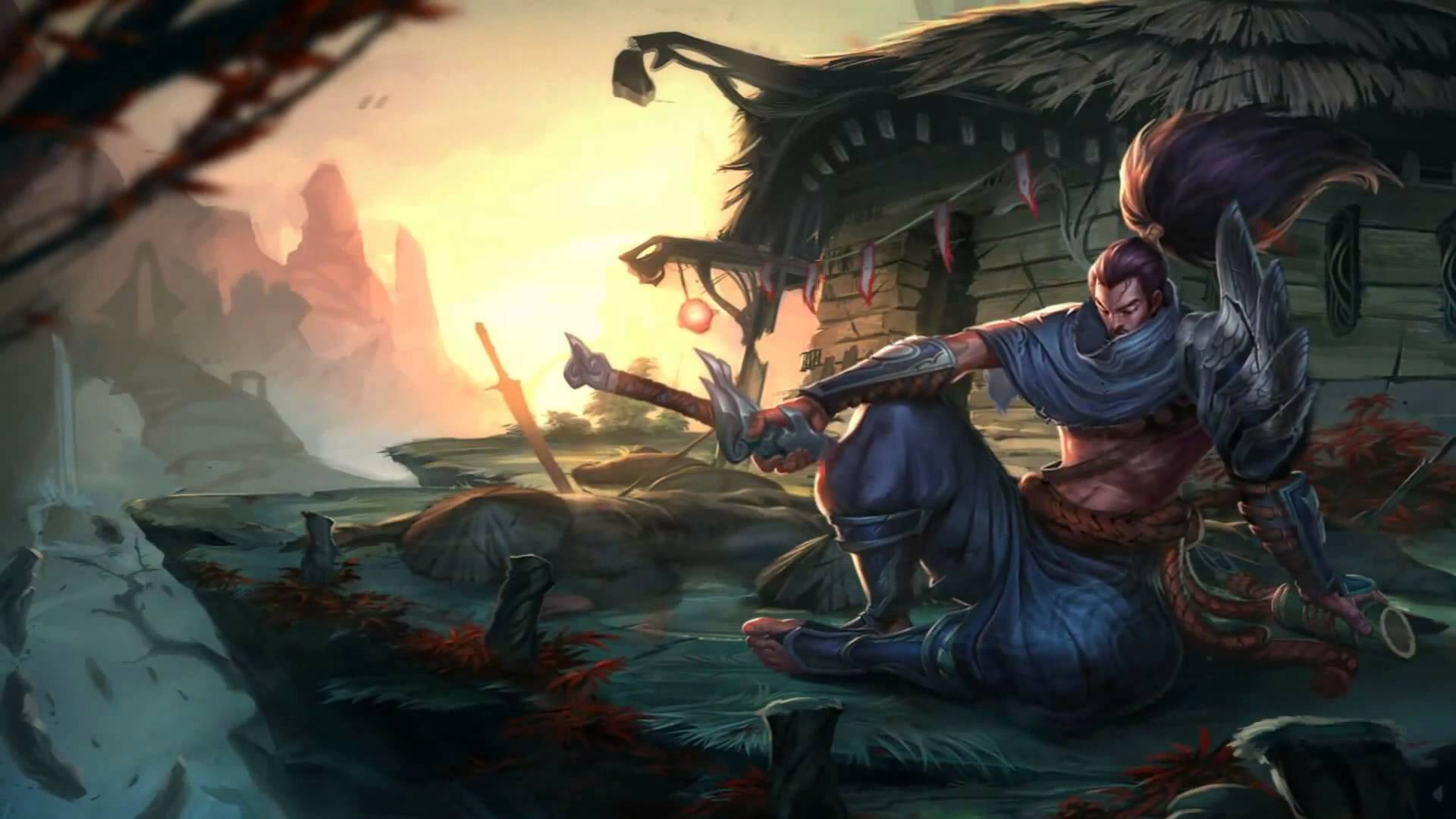 League Of Legends Yasuo Theme Music Extended HD YouTube 1920x1080