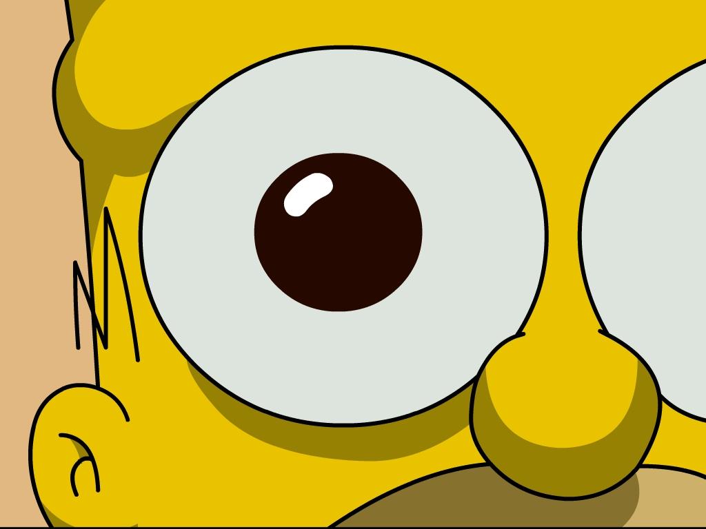 Homer Simpson Wallpaper 1024x768