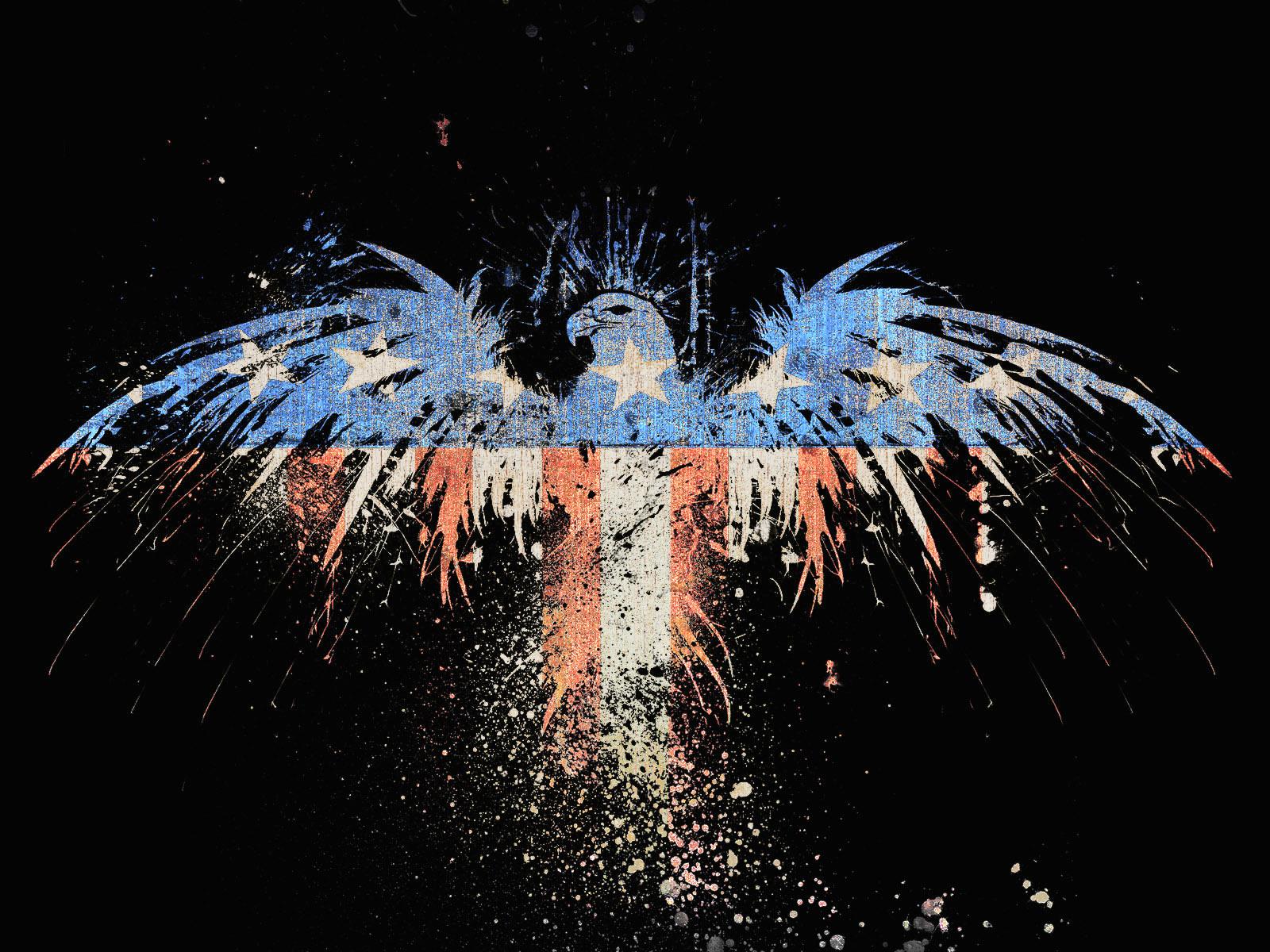 Patriotic Wallpaper Usa Flag Eagle: Patriotic Eagle Wallpapers Free