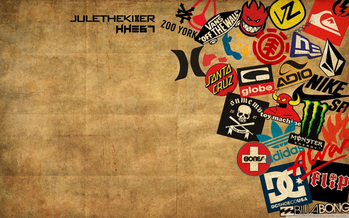 Skateboard Brand Wallpaper HD by julethekiller 1131x707