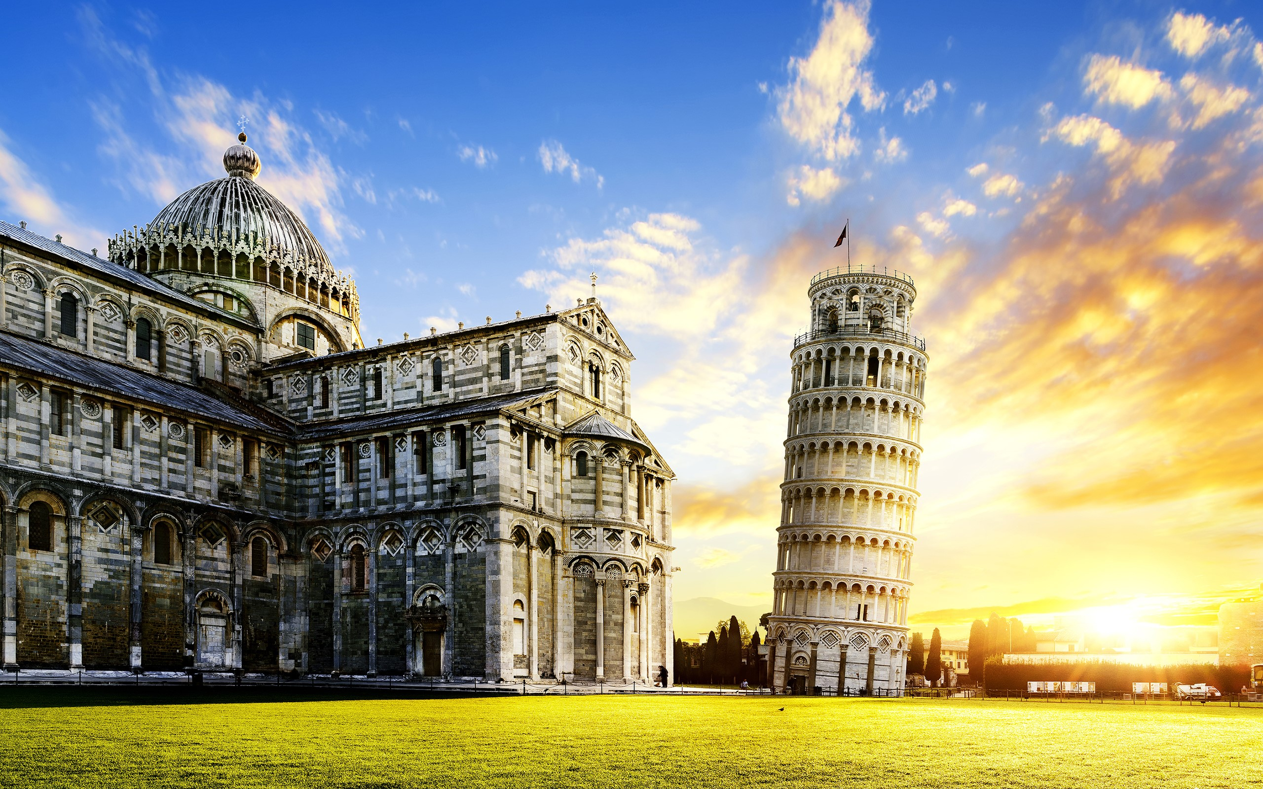 Leaning Tower of Pisa in Italy Desktop Wallpapers HD Wallpapers 2560x1600