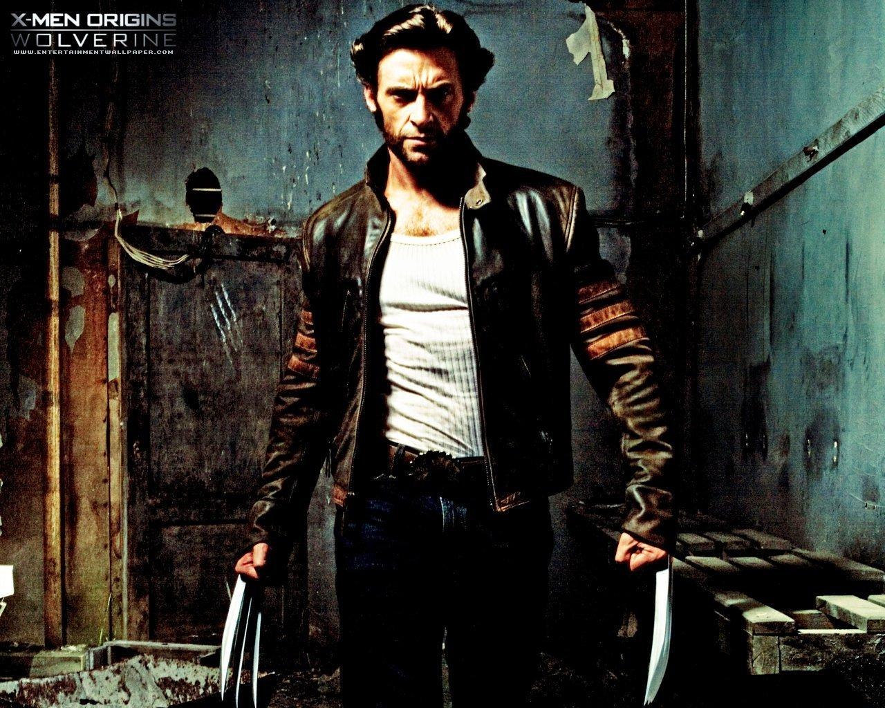 X Men Origins Wolverine achtergrond   Upcoming films achtergrond 1280x1024