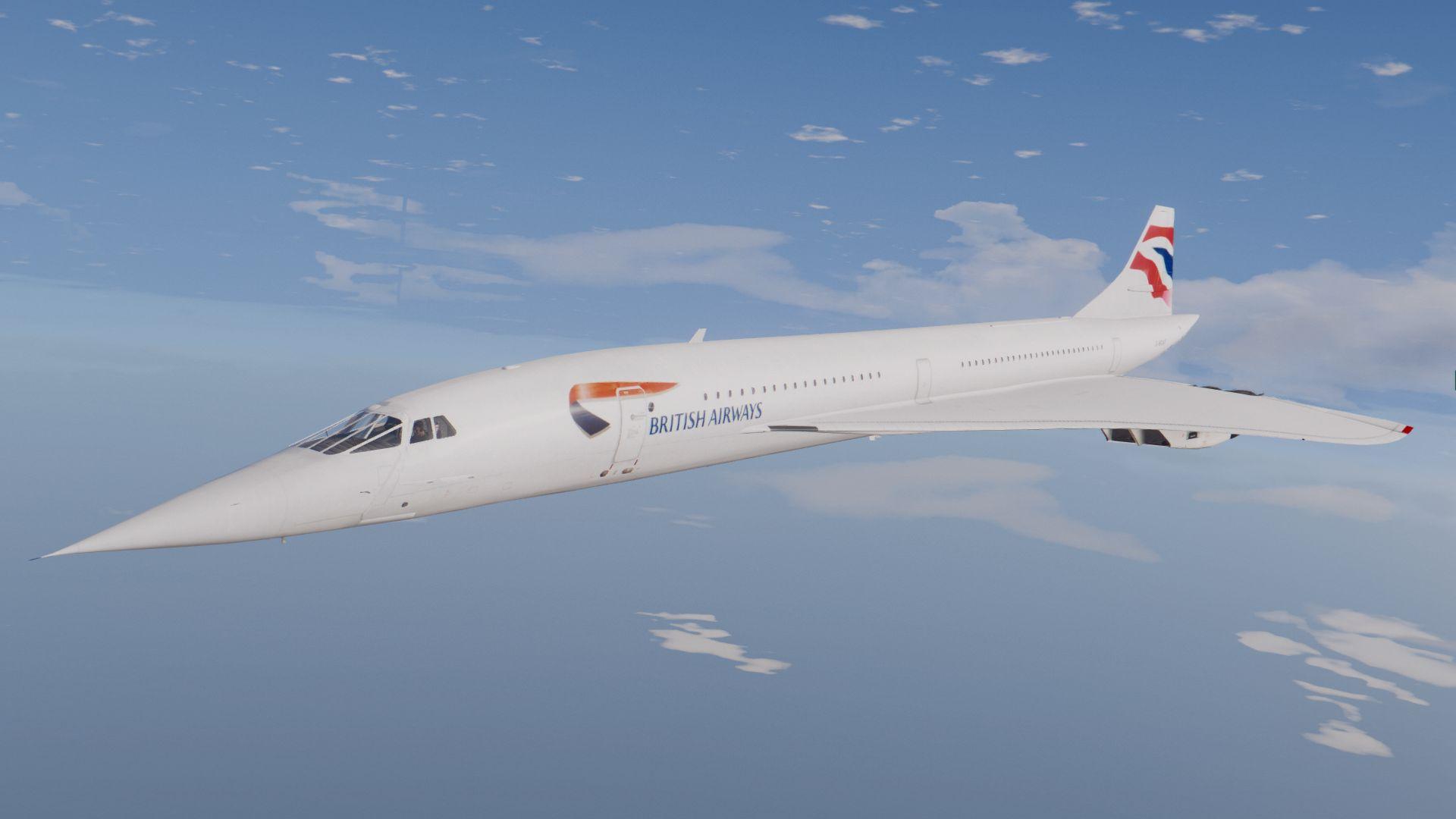 Concorde British Airways HD Wallpaper Background Image 1920x1080