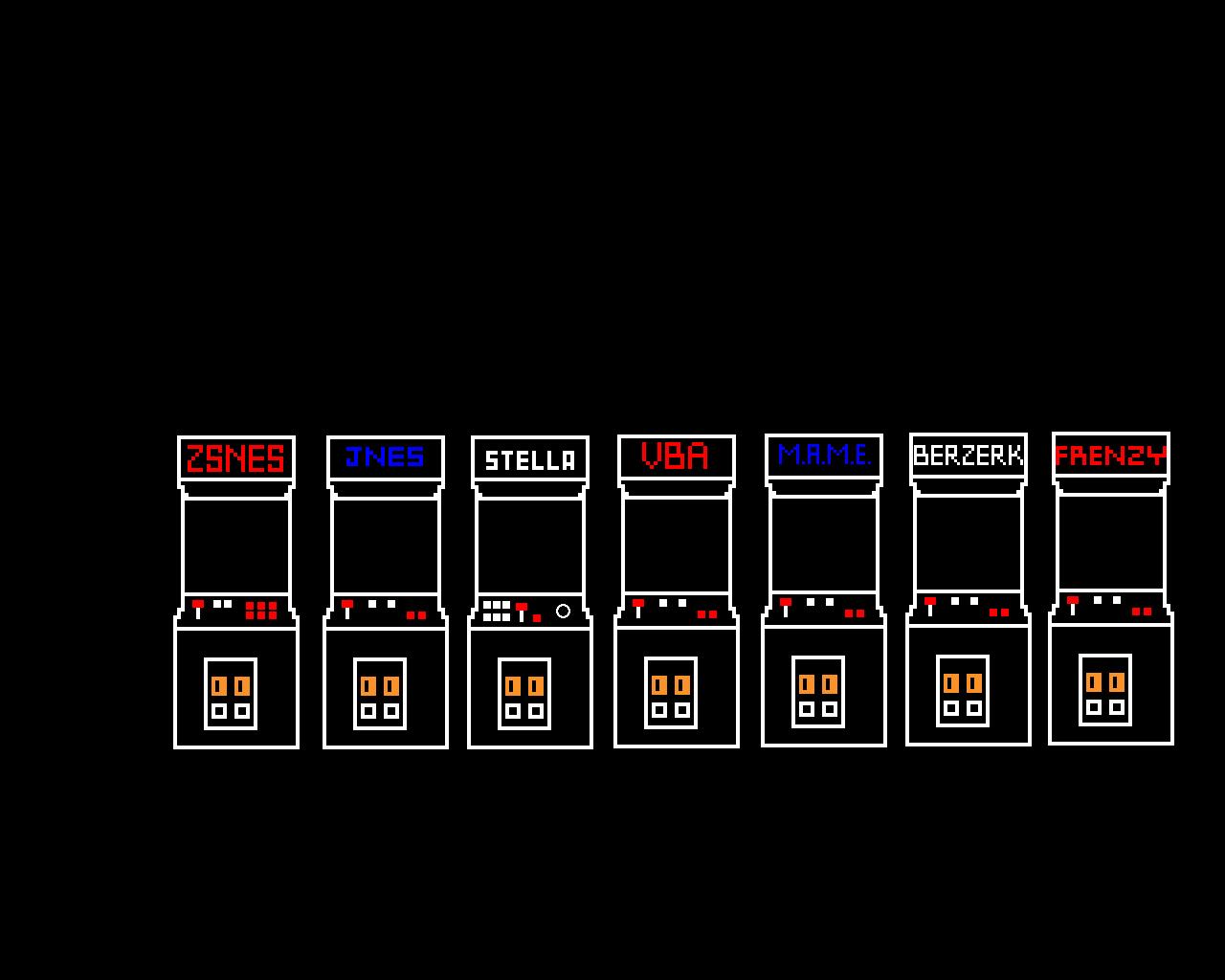 Pixel Art Emulation Arcade Wallpaper 1280x1024