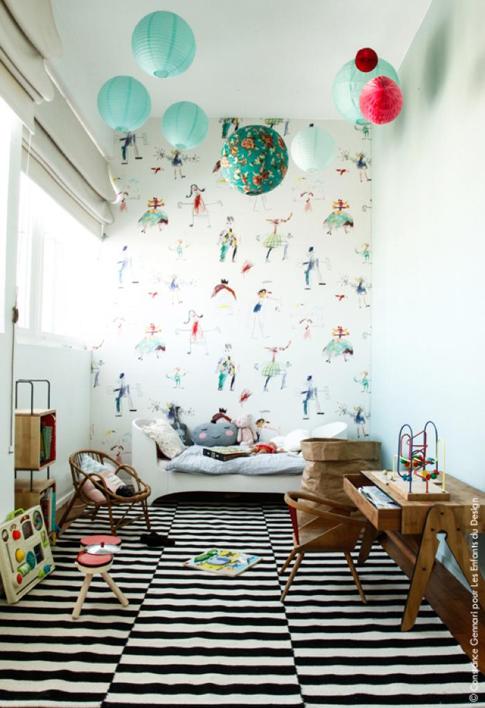 Pierre frey wallpaper wallpapersafari - Idee deco wallpaper volwassene kamer ...