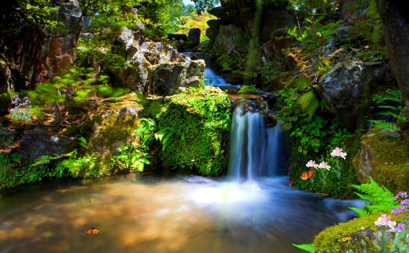 Download Just Paradise Screensaver Screensavergiftcom 1385x858