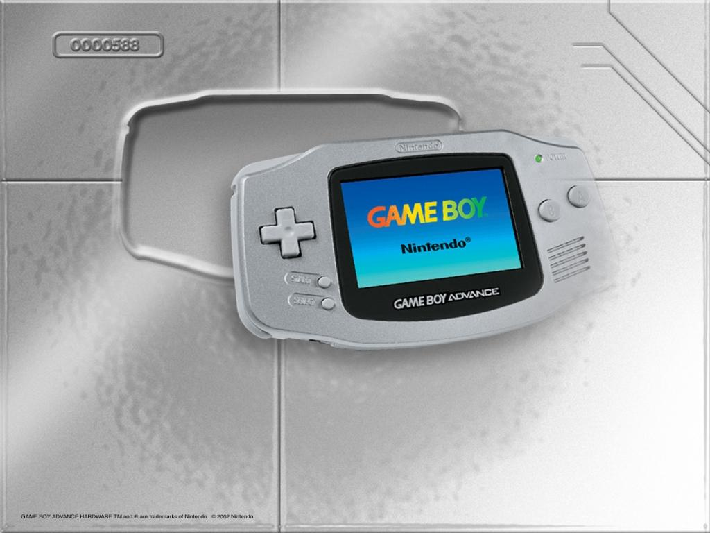 game boy advance platinum papel de parede sobre game boy advance 1024x768