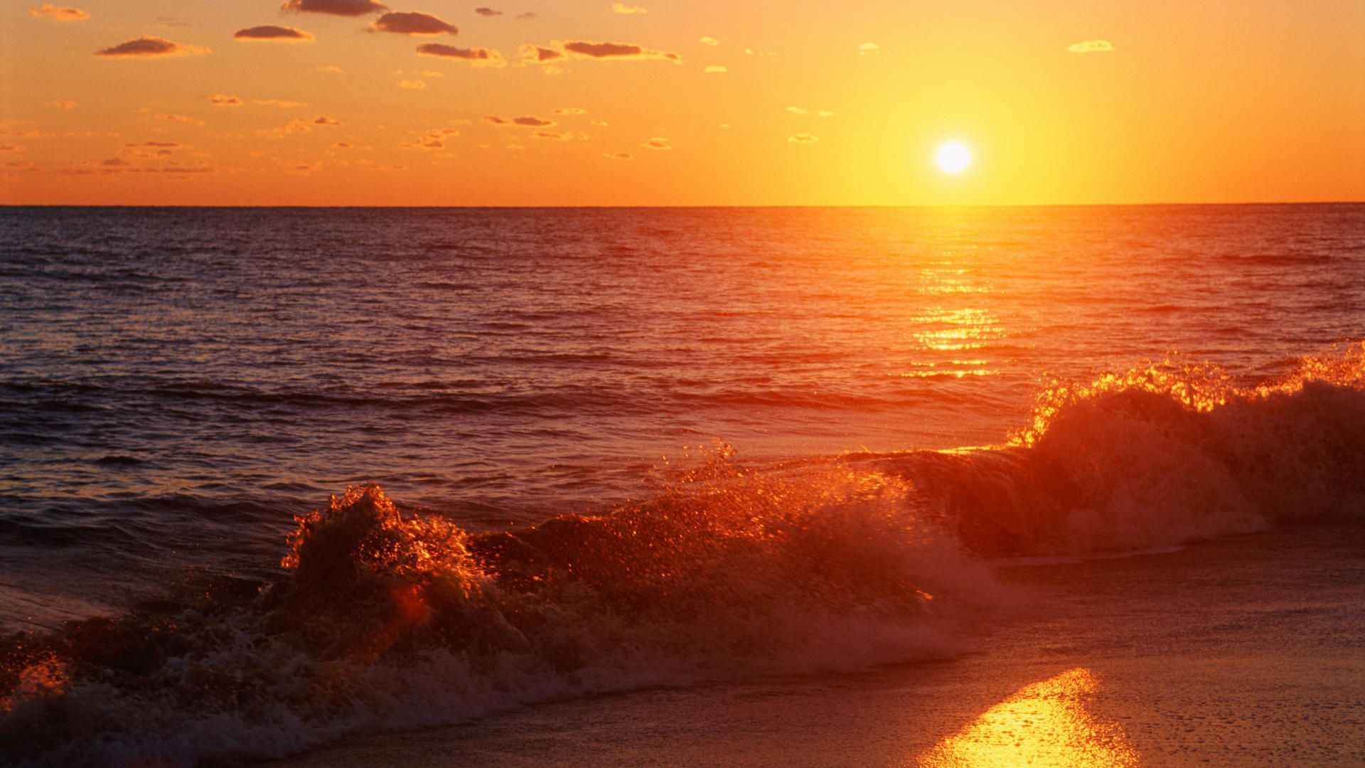 Sunset On The Beach Wallpaper Latest Pictures 1aj9n0c8   Yoanucom 1920x1080