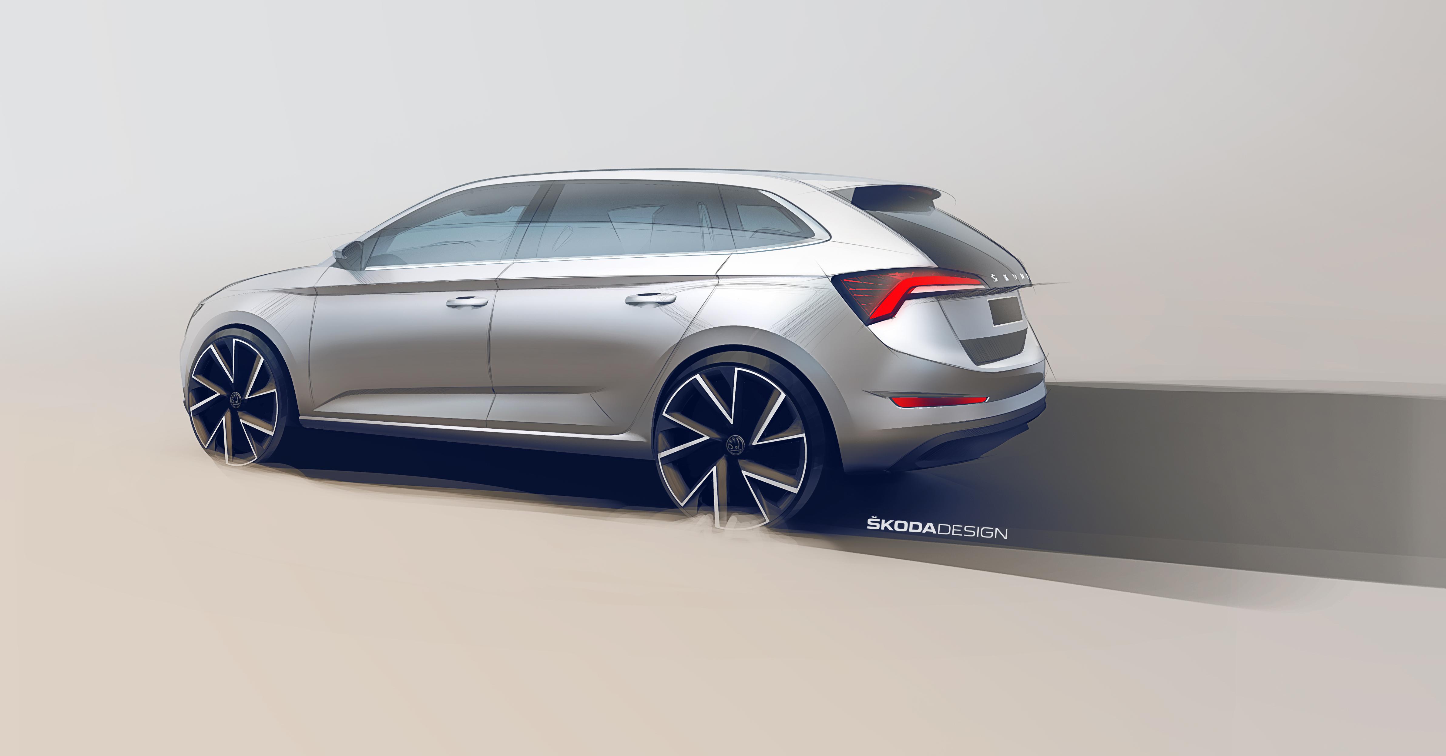 2019 Skoda Scala 525352   Best quality high resolution car 4769x2494