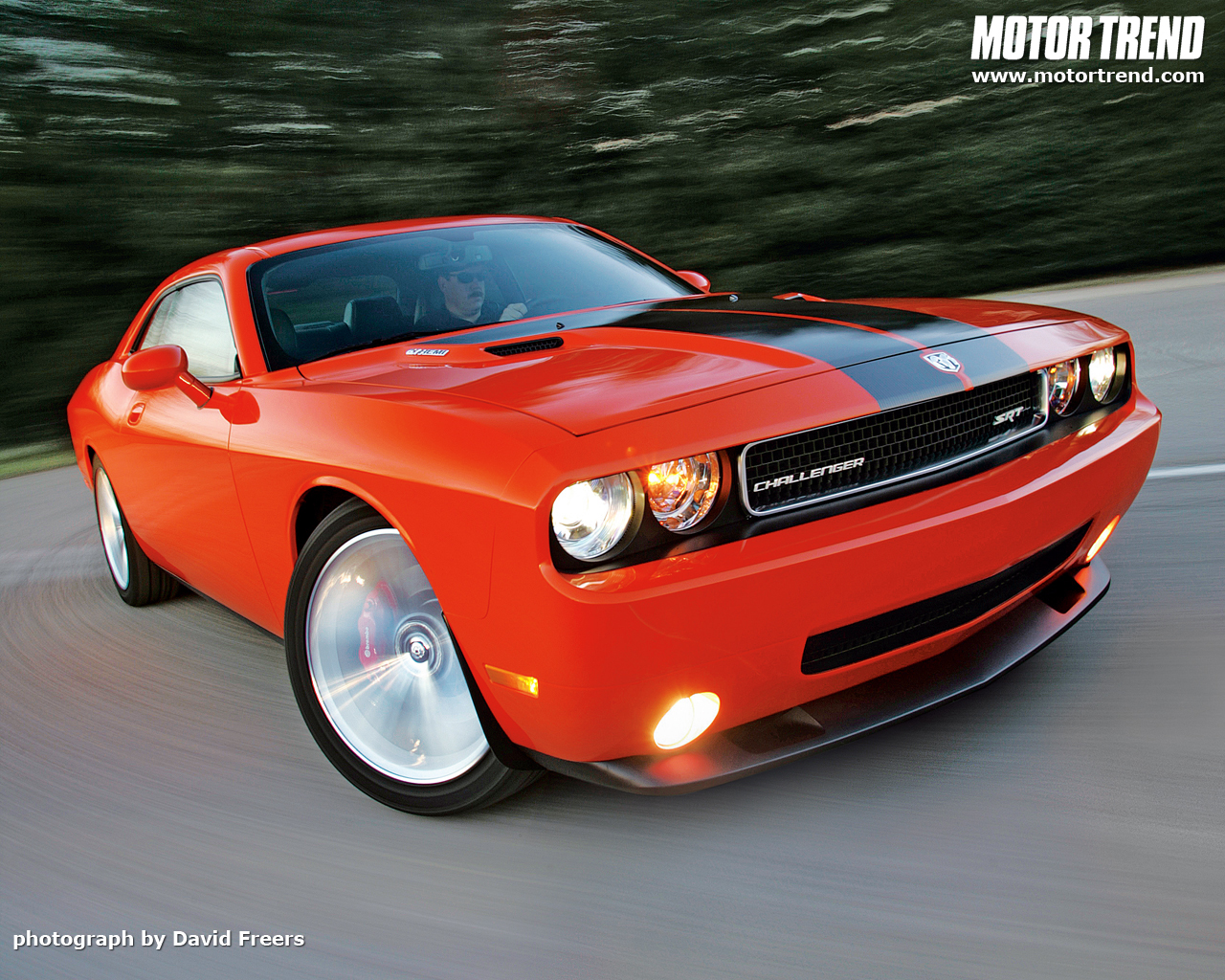 2008 Dodge Challenger SRT8   Wallpaper Gallery   Motor Trend 1280x1024