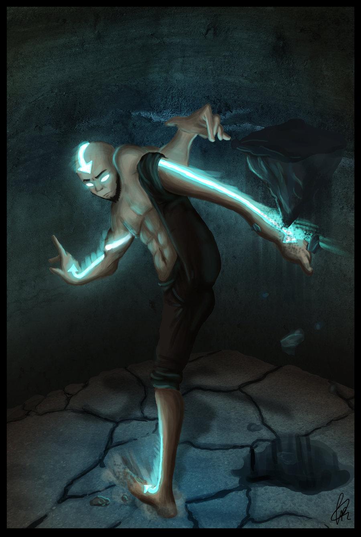 avatar state aang grown korra airbender legend deviantart states becuo wallpapersafari recently code