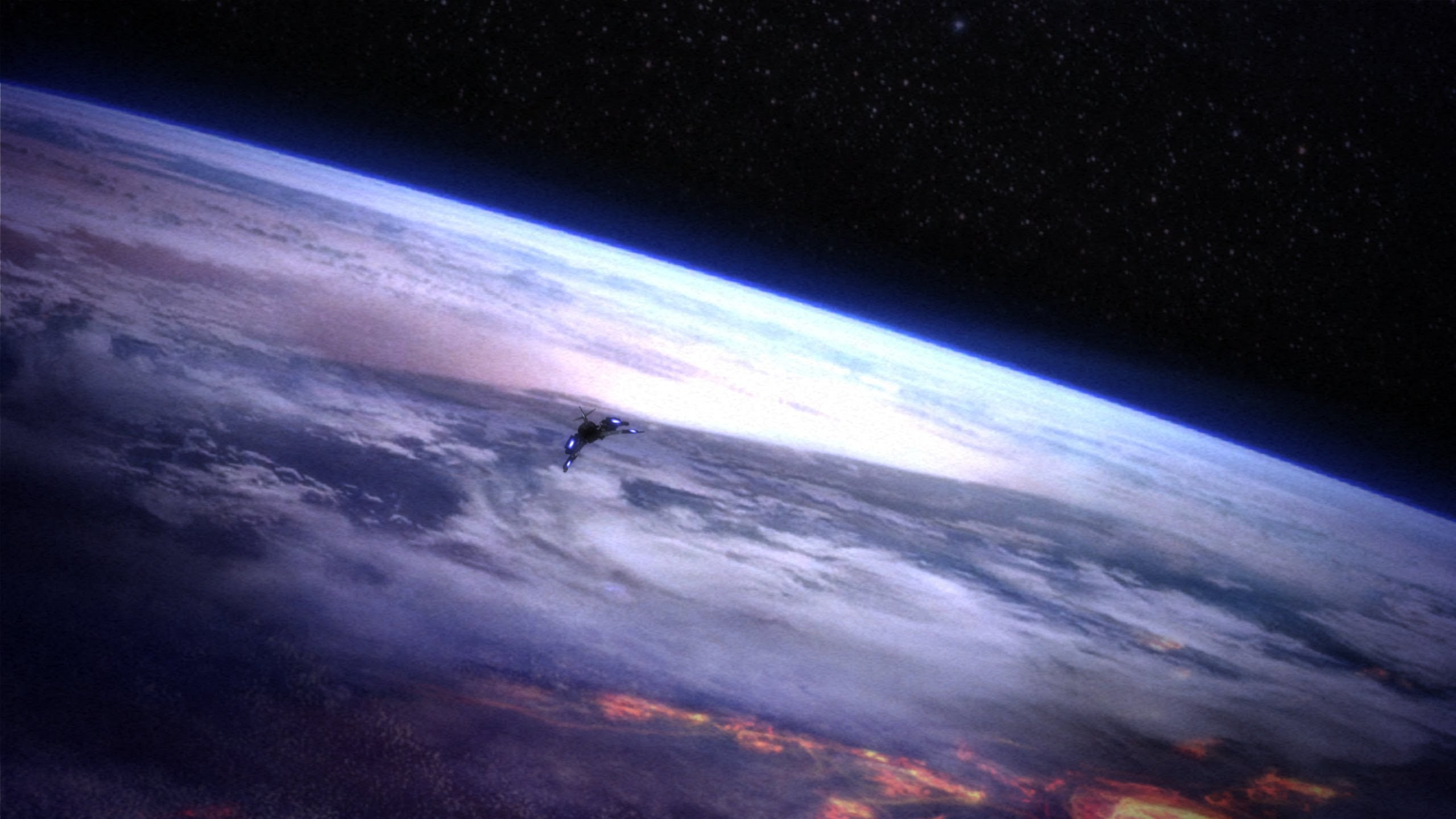 Free Download Mass Effect Opening Gameplay 1440p 2560x1440 For
