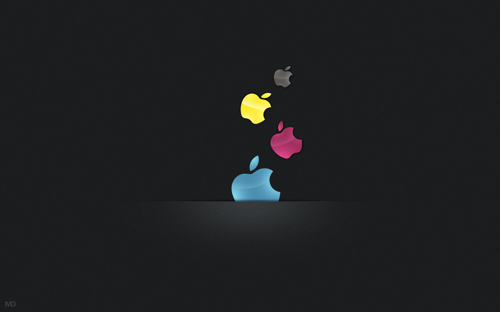 CMYK vs Apple HD Wallpaper Theme Bin   Customization HD Wallpapers 1920x1200