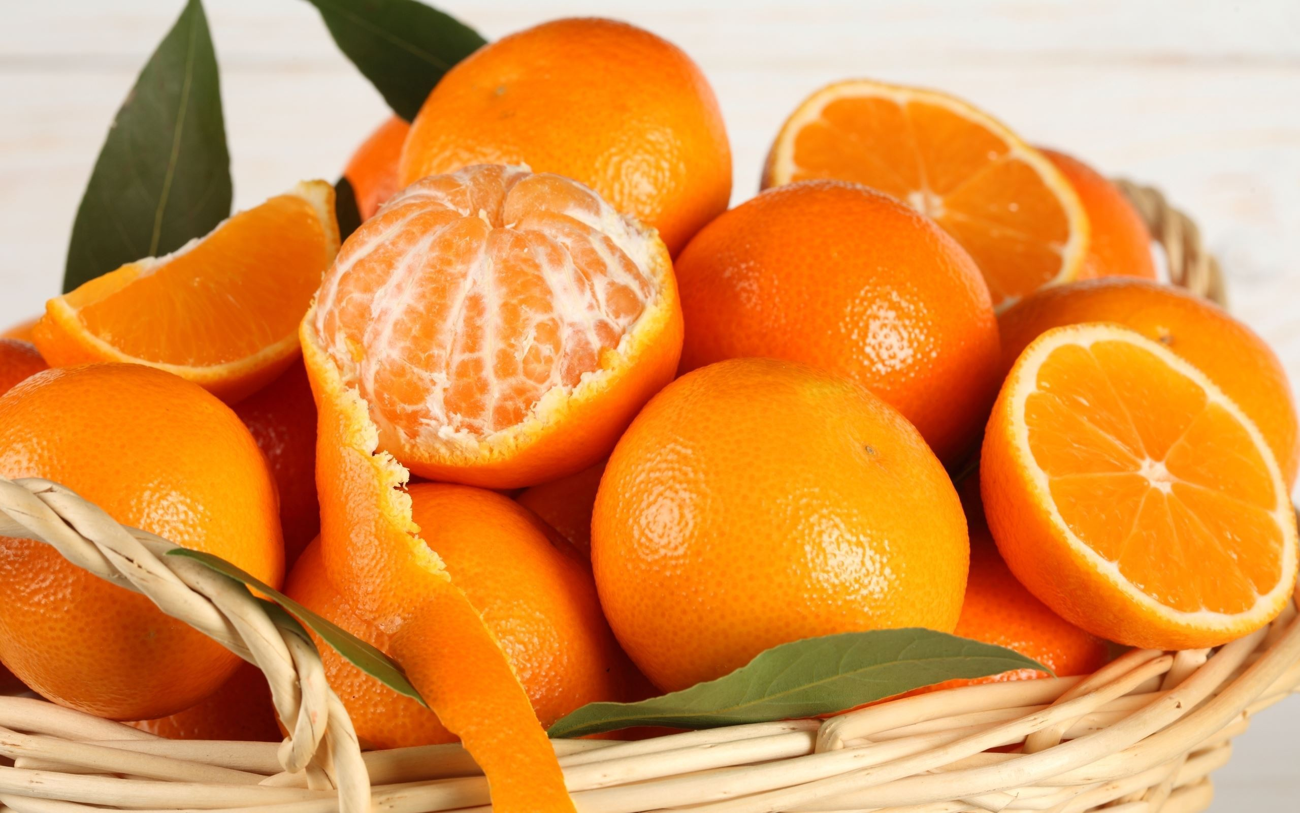 Orange Fruit HD Wallpaper Background Images 2560x1600
