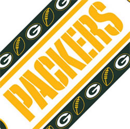 NFL Green Bay Packers Wall Border Football Wallborder Roll 500x496